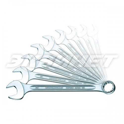 13а/10КТ Набор рожково - накидных гаечных ключей OPEN - BOX  10 шт. Stahlwille (Германия)