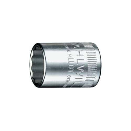 """13 мм/ 1/4"""" Торцевая головка 12 гранная 40D Stahlwille (Германия)"""