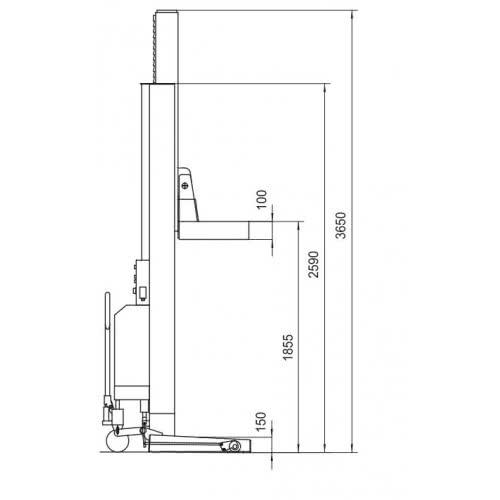 Stertil-Koni ST 1082 EARTHLIFT