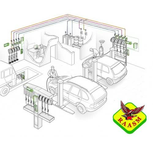 Автоматизированная система раздачи масла