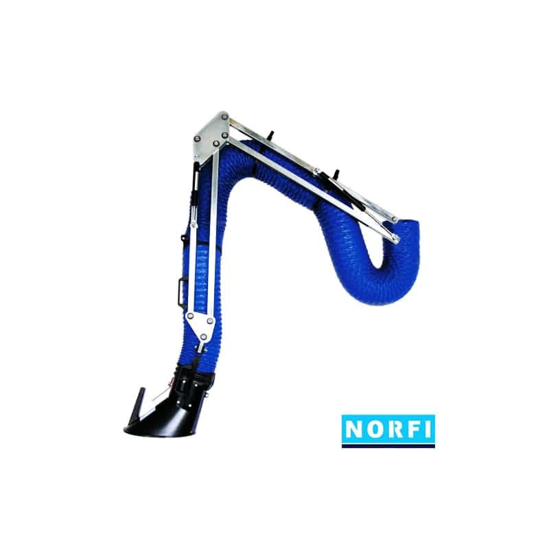 Вытяжной поворотный рукав DN160 (2м). Norfi (Германия)