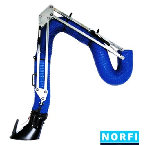 Вытяжной поворотный рукав DN160 (4м). Norfi (Германия)