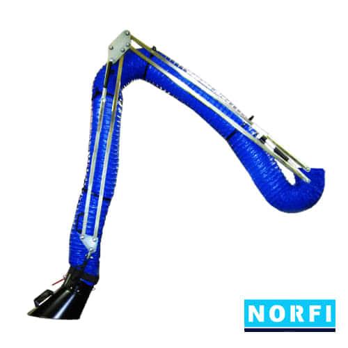 Вытяжной поворотный рукав DN200 (4м). Norfi (Германия)