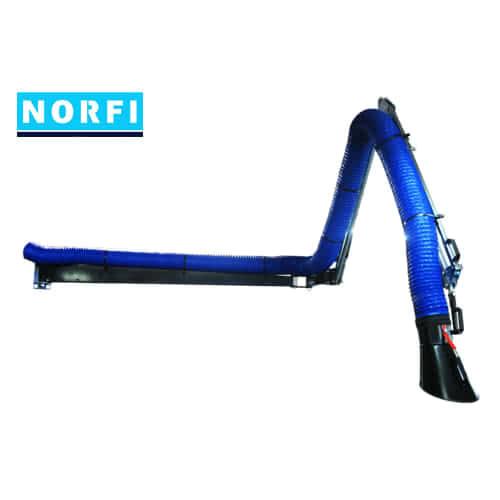Комплект вытяжного рукава 8м. Norfi (Германия)