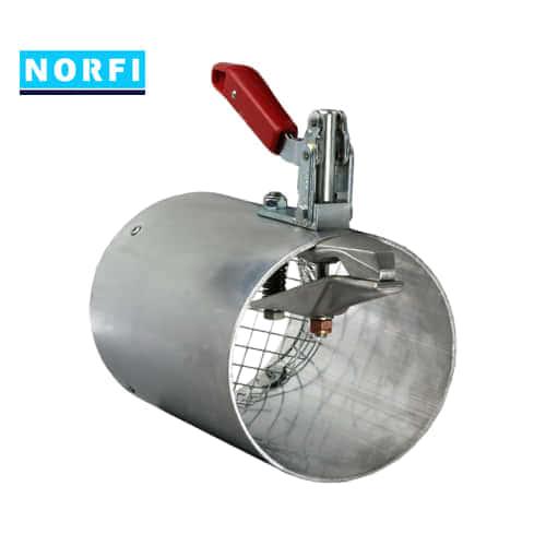 Вытяжная насадка с механическим подсоединением Ø144мм DN150. Norfi (Германия)
