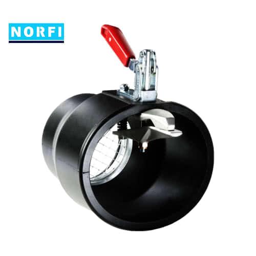 Вытяжная насадка с механическим подсоединением Ø170мм DN100. Norfi (Германия)