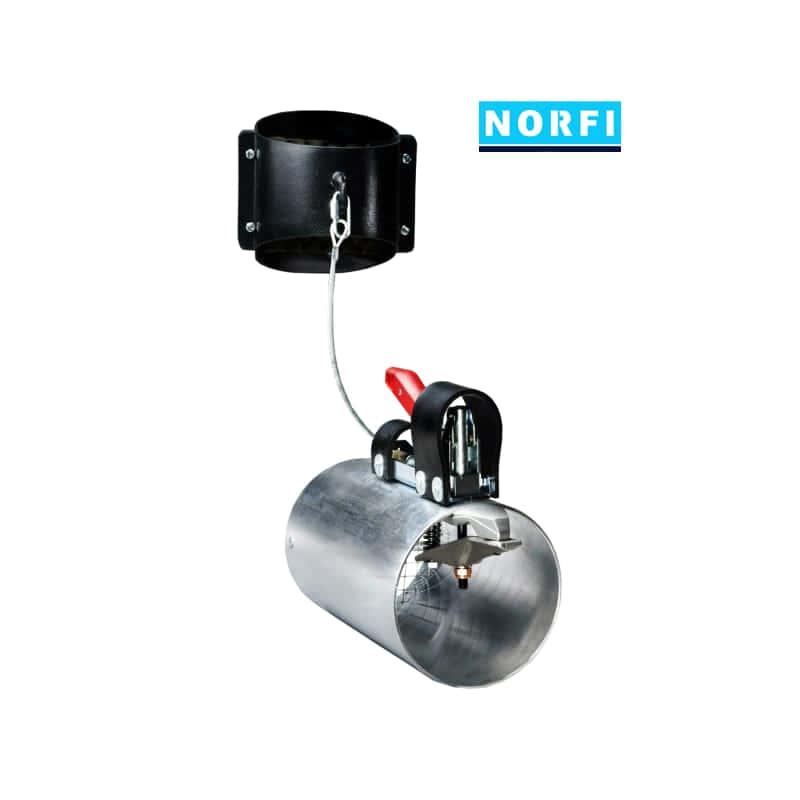 Y-адаптер для двух выхлопных труб DN100. Norfi (Германия)