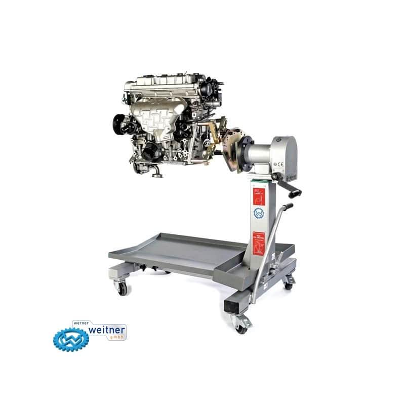 R10, Стенд для разборки двигателя, ширина двигателя 200 мм. Ravaglioli (ИТАЛИЯ)