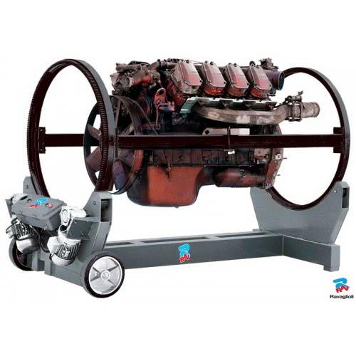 Стенд для ремонта двигателей грузовых автомобилей Ravaglioli R 15 г/п 2 т (Италия)