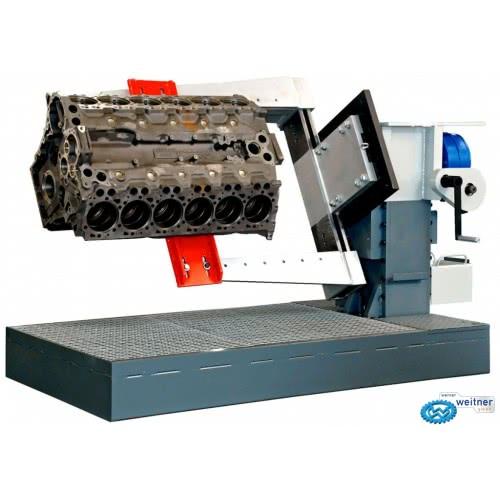 Стенд для ремонта двигателей грузовых автомобилей Werner Weitner WW-HV-2500 (Германия)