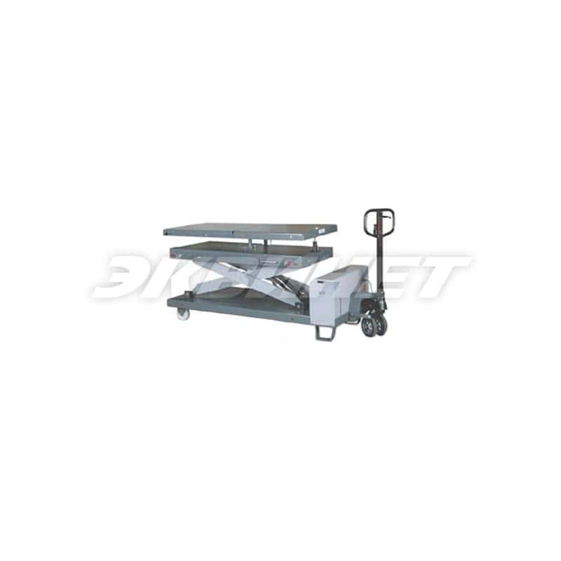 Ножничный подъёмный стол для агрегатов