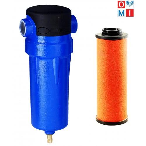 PF 0034. Фильтр сжатого воздуха второй ступени. OMI (Италия)