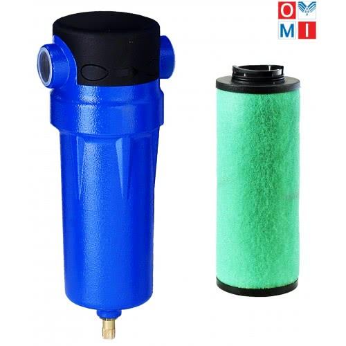 HF 0010. Фильтр тонкой очистки сжатого воздуха. OMI (Италия)