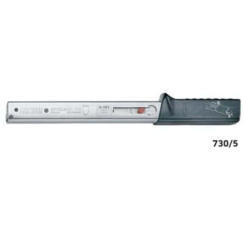 730/5 Динамометрический ключ 6 - 50 Нм, с держателем для сменного инструмента Stahlwille (Германия)