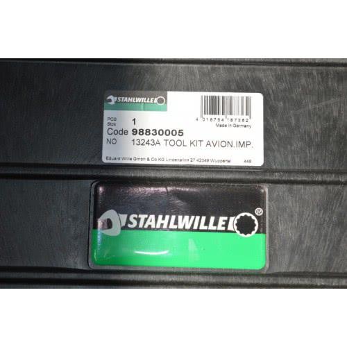 13243а Комплект инструментов для авионики, дюймовый Stahlwille (Германия)