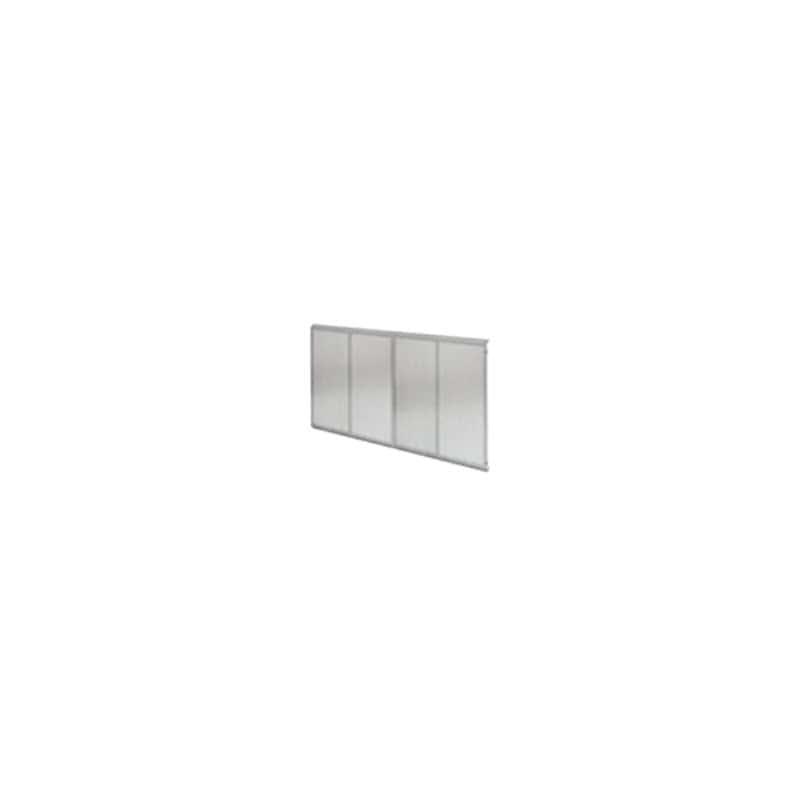 Блок перф.панелей, сдвоенный, настенный монтаж