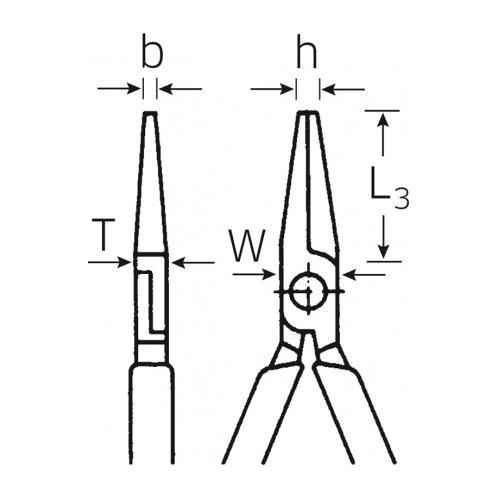 6501 3 160 Комбинированные плоскогубцы 160 мм Stahlwille (Германия)