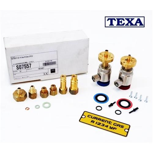 SPEED комплект для перехода заправок кондиционеров TEXA с газа r134a на r1234yf