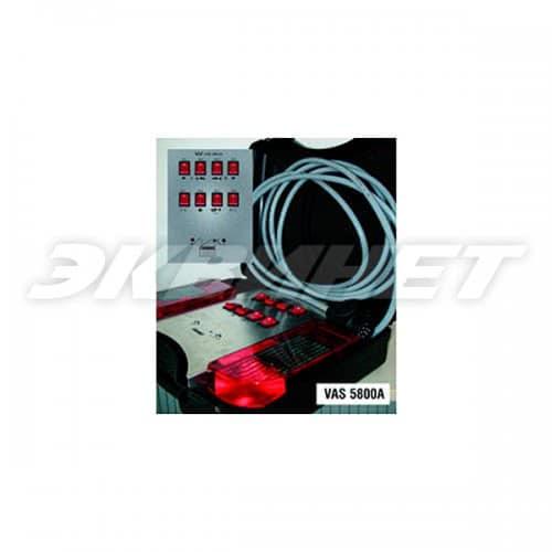 Тестер для проверки розеток тягово-сцепного устр-ва