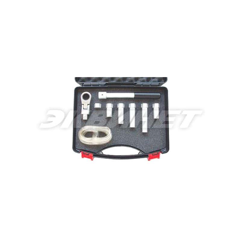 Набор инструментов для прокачки тормозной системы