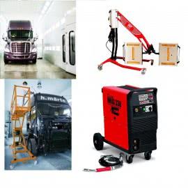 Оборудование для кузовного ремонта грузовых авто
