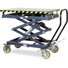 Подъемные столы для грузовых авто