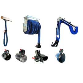 Оборудование для вытяжки выхлопных газов легковых авто