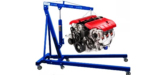Кран для снятия двигателя